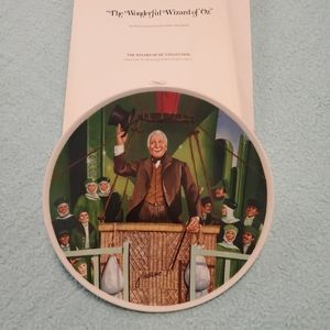1979 Wizard of Oz Knowles Collectors Plate